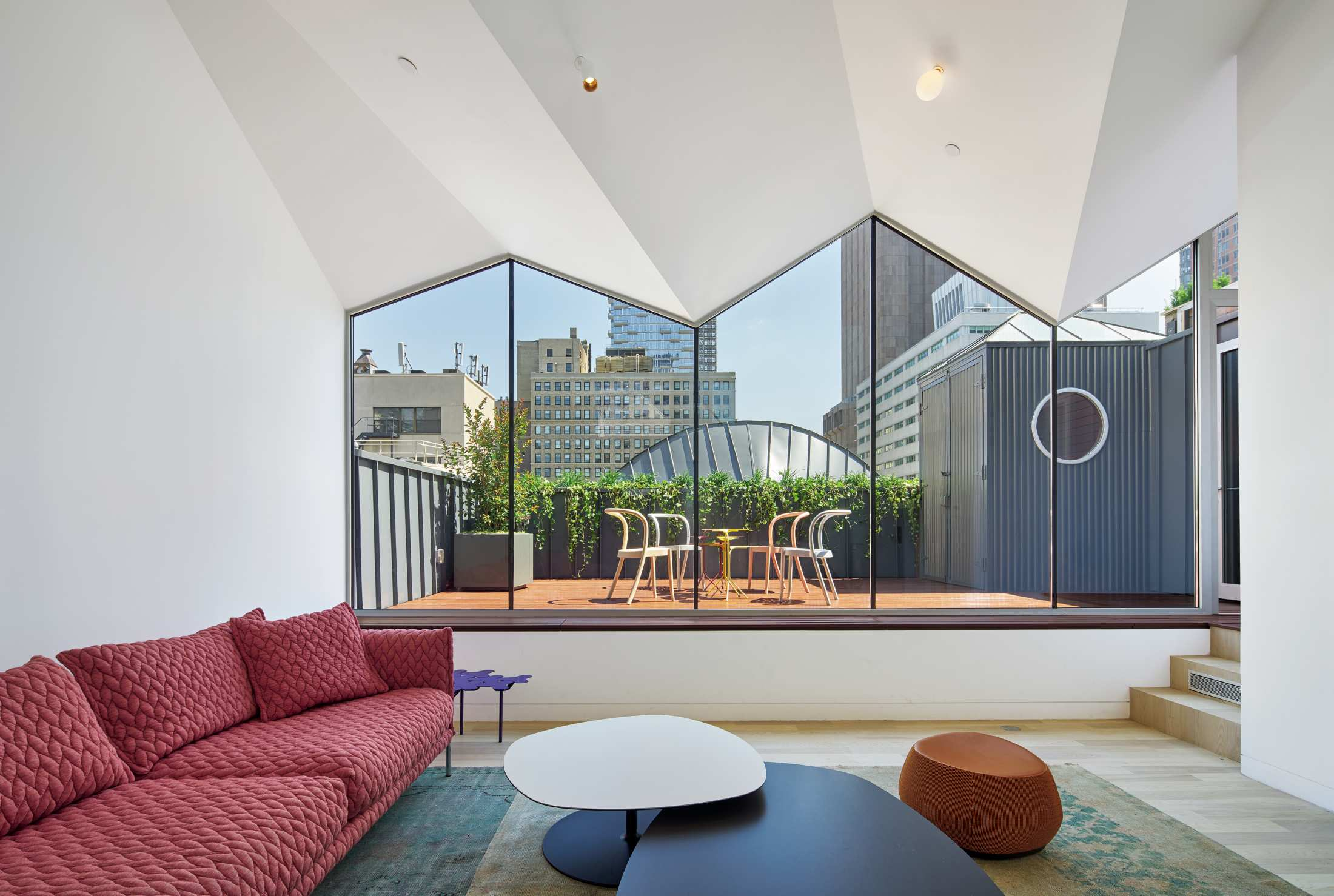Rooftop Greenhouse Terrace